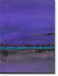 "Maxine Jurow ~ ""Purple River"""